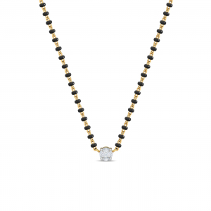 The Solitaire Mangalsutra