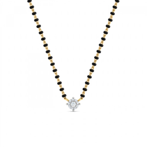 Cluster Solitaire Mangalsutra