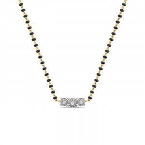Miracle Solitaire Mangalsutra